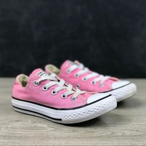 Converse All Star Low Top Pink Sneakers